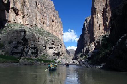 Mariscal CanyonCanoeing Mariscal Canyon