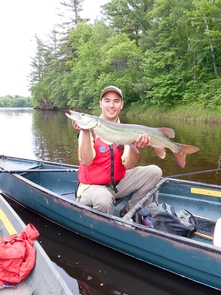 Fishing the St. Croix RiverThe fishing is spectacular on the St. Croix and Namekagon rivers.