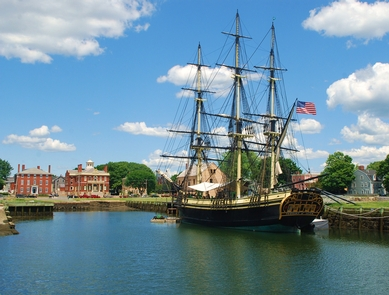 Park Waterfront & Vessel Friendship of Salem