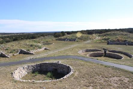 Kivas at Gran QuiviraAn overview of kivas at Gran Quivira
