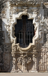 The Rose Window, Mission San JosйLegend has Pedro Huizar constructing this window for his beloved Rosa, who died at sea on her way from Spain to join him in new Spain.