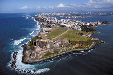 Castillo San Felipe del Morro Aereal View