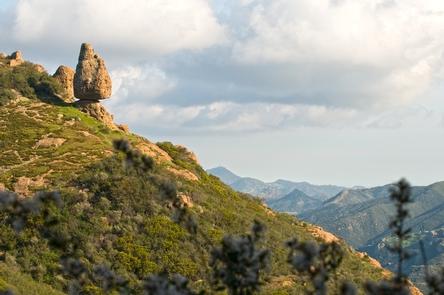 Balanced RoackHike to Balanced Rock along the Mishe Mokwa Trail, located near Circle X
