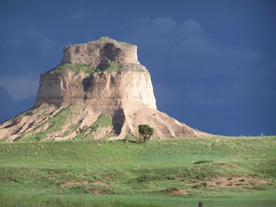 Dome RockDome Rock is one of five named rocks at Scotts Bluff National Monument