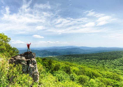 Adventure AwaitsThere are over 60 peaks with an elevation over 3,000 feet in Shenandoah.