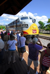 Train ridesSeasonal train rides, both inside the park boundaries and to further destinations, are part of the Steamtown experience, whether with vintage diesel or steam locomotives