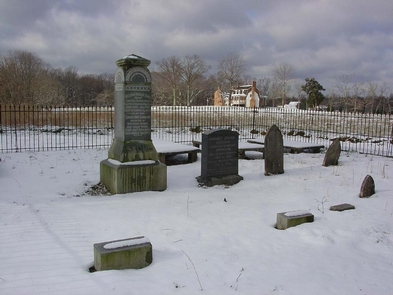 THST CemeteryVisitors come to see the grave of a signer of the Declaration of Independence