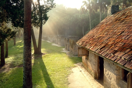 Kingsley Plantation Slave QuartersThe tabby cabins at Kingsley Plantation were the homes of many enslaved people.