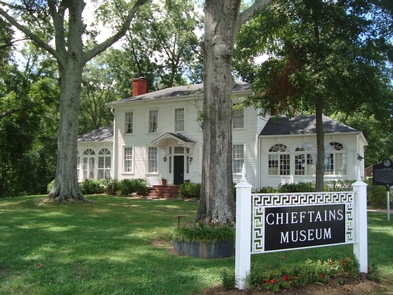 Chieftain's Museum, Rome, GeorgiaThe museum tells the story of Major Ridge, the influential Ridge family including prominent son John Ridge, Cherokee history, and the Trail of Tears, as well as subsequent history of the home and region.