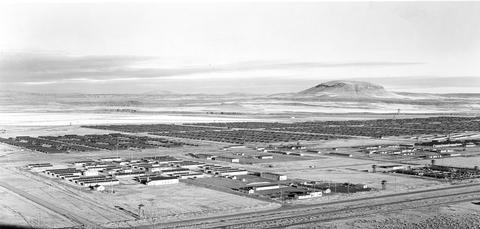 Tule Lake Segregation Center in 1946