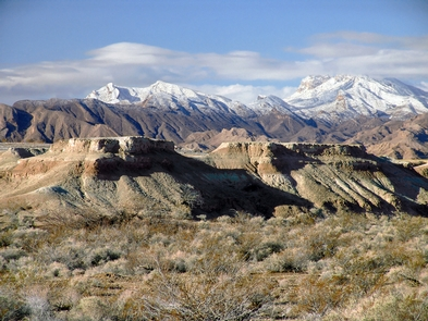 Tule Springs Fossil Beds National MonumentTule Springs during winter