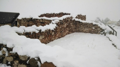 Tuzigoot with Snow!Even central Arizona can get a lot of snow!  Check out the dwellings at Tuzigoot covered in a winter storm.