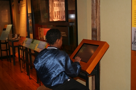 Museum ExhibitsThe interactive museum is located in the historic stable.