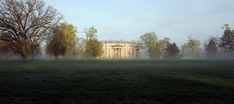 Vanderbilt Mansion National Historic SiteA misty Spring morning at the Vanderbilt Mansion