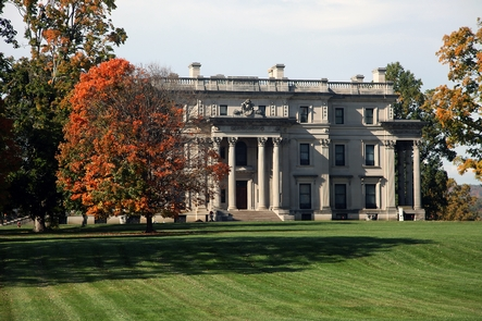 Vanderbilt Mansion National Historic SiteThousands of visitors flock to the Hudson Valley in the Fall to see the leaves change colors.