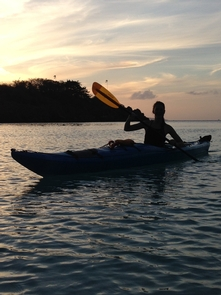 Sunset PaddleA Sunset Paddle, a perfect end to your day.