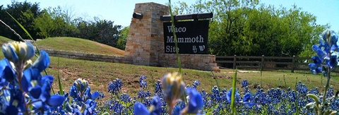 Entrance Sign to Waco MammothWaco Mammoth National Monument became part of the national Park Service on July 10, 2015.