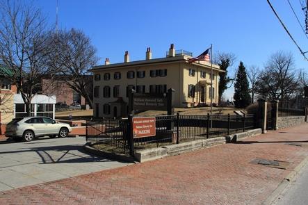 Park PhotoThe Taft House and Education Center as seen from Auburn Ave.