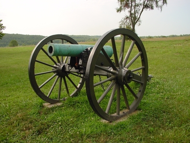 Cannon at Tour Stop Number 5