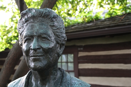 Catherine Filene Shouse BustCatherine Filene Shouse donated her land to the National Park Service, which Wolf Trap National Park for the Performing Arts was established.