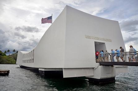 USS Arizona MemorialDaily visitation to the USS Arizona Memorial is often more than 4,000 visitors.