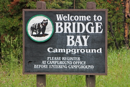 Bridge Bay CampgroundBridge Bay Campground is located close to the Bridge Bay Marina and Yellowstone Lake.