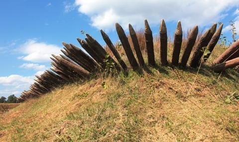 Yorktown Battlefield Earthworks:Redoubt 9