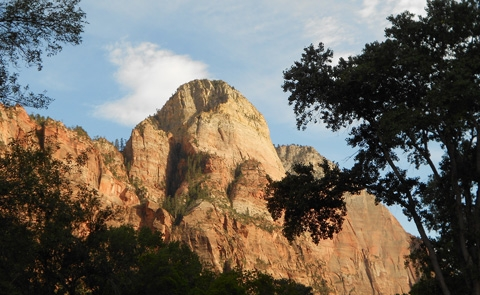 Mountain of the SunThe Mountain of the Sun in Zion Canyon.