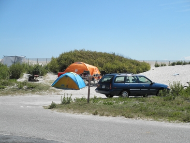 Camping at AssateagueTent camping in the Oceanside campground at Assateague is a great way to relax and recreate at the beach.