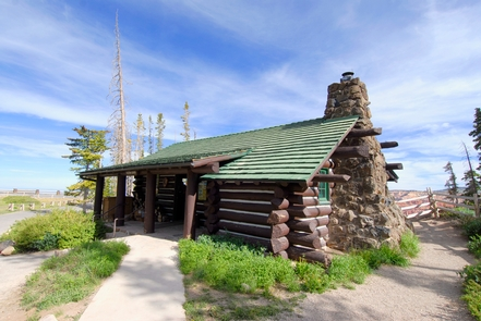 Cedar Breaks Visitor CenterStop by Cedar Breaks visitors center at Point Supreme for great views and information.