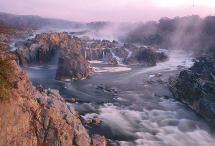 Great FallsGreat Falls marks the fall line of the Potomac River.