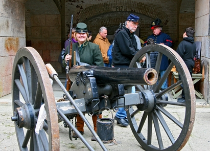 Civil War Days at Fort PointVisitors can interact with Civil War re-enactors twice in January and August at the Fort.