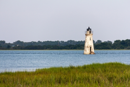 The Cockspur Island LighthouseThe Cockspur Island Lighthouse still stands guard over the south channel of the Savannah River and Fort Pulaski.