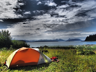 Camping in the Glacier Bay backcountryGlacier Bay provides endless possibilities for wilderness camping.
