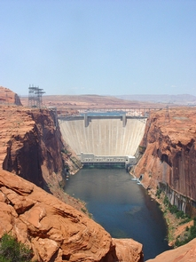 Glen Canyon DamGlen Canyon Dam is the country's second largest gravity arch dam. Take a tour from the Carl Hayden Visitor Center.