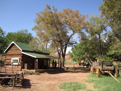 Lonely Dell Ranch at Lees Ferry Historic DistrictGlen Canyon isn't just houseboats and wakeboards. Come down to Lees Ferry Historic District to relive pioneer times when crossing the river was a major undertaking.
