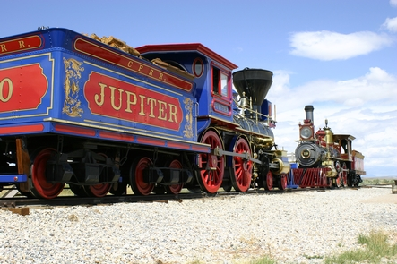 Replica Locomotives Jupiter and #119Connect with the history by viewing the site's replica steam locomotives in action