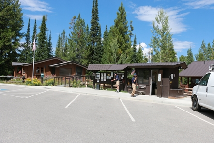 Signal Mountain Campground RegistrationStay at the Signal Mountain Campground