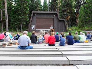 Colter Bay AmphitheaterEnjoy a ranger program at the amphitheater!