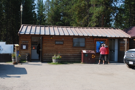 Headwaters Campground OfficeRegister for your campsite at the Headwaters Campground and visit both parks.