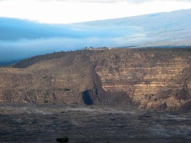 Hawaiian Volcano Observatory & Jaggar MuseumHawaiian Volcano Observatory and Jaggar Museum on the edge of Kīlauea Caldera