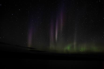 Aurora Borealis Over Isle Royale National ParkIsle Royale National Park's dark skies make it an excellent location to enjoy nighttime phenomenon, like the Aurora Borealis.