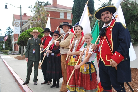 Anza Trail at Presidio of San FranciscoAnnual events bring together descendants of the Anza Expedition of 1776.
