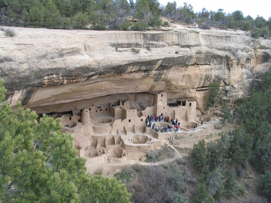 Cliff PalaceCliff Palace, Mesa Verde's Largest Cliff Dwelling