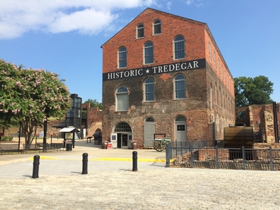 Tredegar Iron WorksTredegar Iron Works is the starting point for your visit to Richmond National Battlefield Park