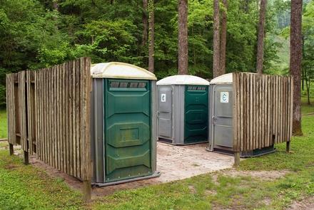 Houchin Ferry Campground - Toilet FacilitiesChemical toilets are provided at Houchin Ferry Campground.