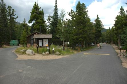 Longs Peak CampgroundLongs Peak Campground has paved roads.