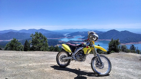 Dirt Bike at Chappie-Shasta OHV Area