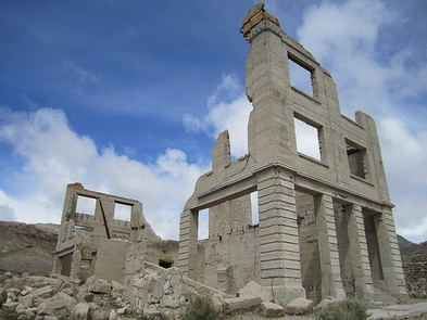 Rhyolite Historic Area