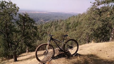 Mountain Bike in Swasey Recreation Area